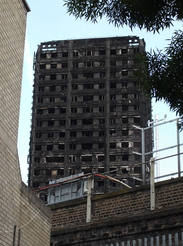 Grenfell Tower after Fire