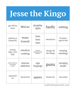 Jesse the Kingo card