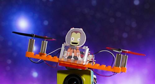 LEGO Dronas   jei Kerbalai gamintų dronus realybėje