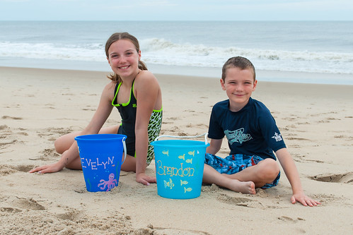 Evy & Brandon at the Beach