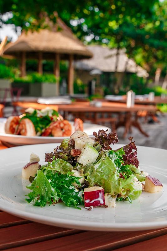 Beachfront Dining at Panali Restaurant, Vana Belle Resort, in Koh Samui, Thailand