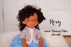 Roxy - 18 inch Natural Fiber Art Doll by Down Under Waldorfs
