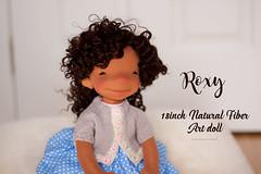 Roxy - 18 inch Natural Fiber Art Doll by Down Under Waldorfs