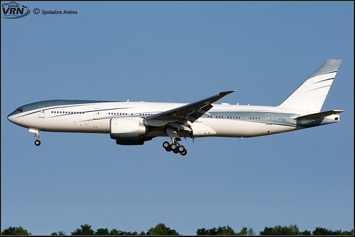 Boeing 777-2KQ(LR) (VIP) - Aviation Link Company - VP-CAL - @VCE/LIPZ | by Andrea_Spoladore