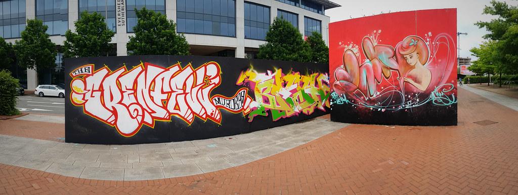 Grenfell Tower street art