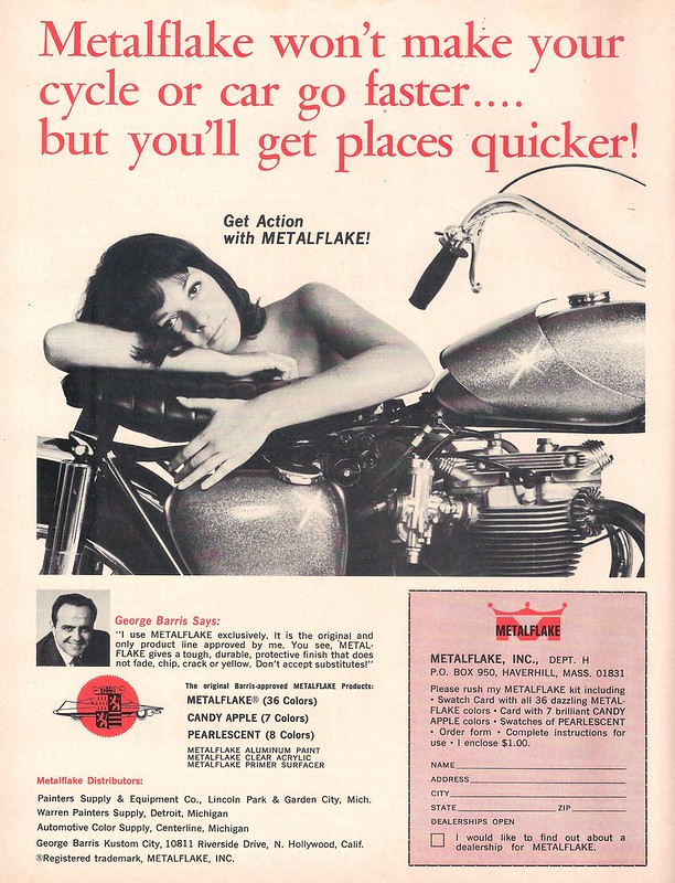 Metalflake George  Barris 1967