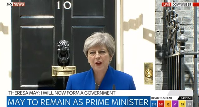 Theresa May June investment outlook papers