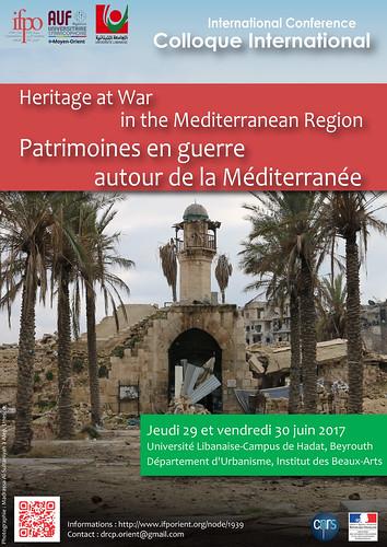 Patrimoines en guerre autour de la Méditerranée