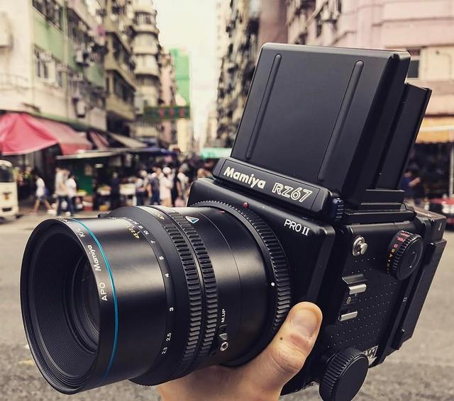 Mamiya RZ67 KL 210mm f4.5 APO 黑白MK