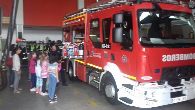 3º y 4º en los bomberos