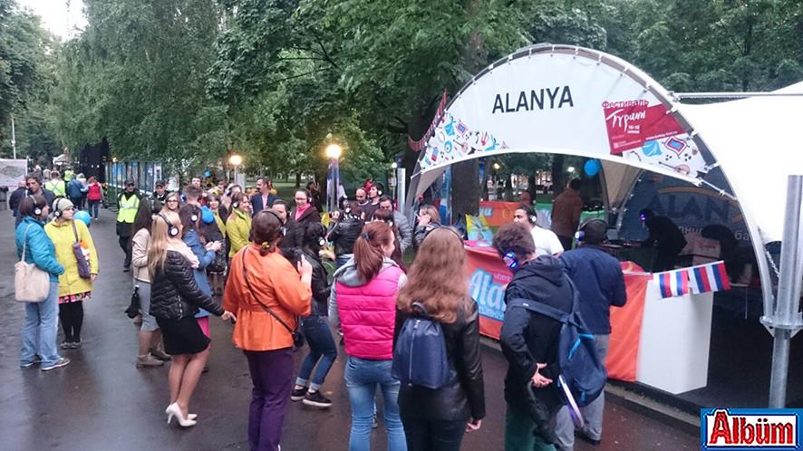 Moskova Krasnaya Presnya Parkı Türkiye Festivali14