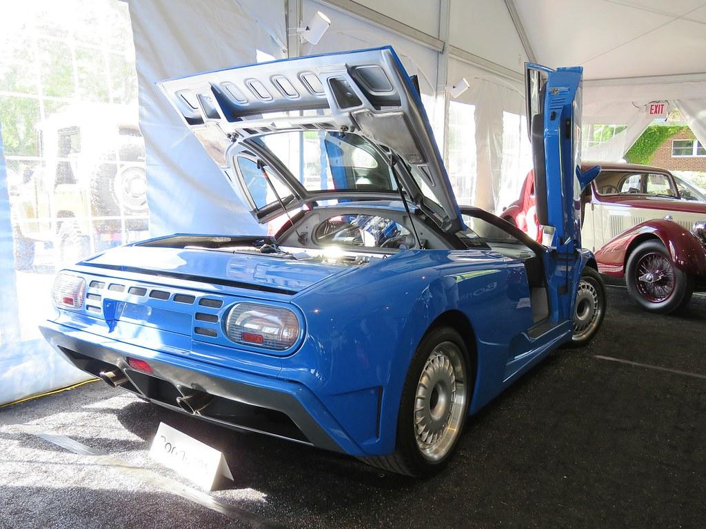 Bugatti EB-110 Greenwich 9