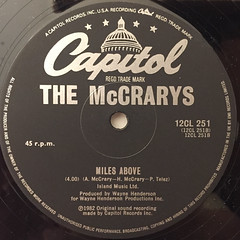 THE MCCRARYS:LOVE ME ON A SUMMER NIGHT(LABEL SIDE-B)