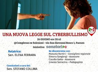 """""""Una nuova legge sul cyberbullismo"""""""