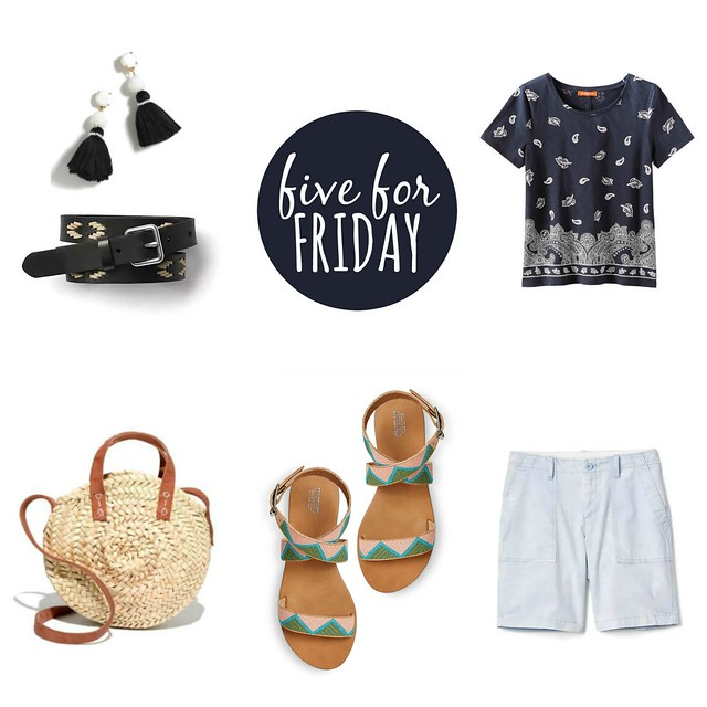 five for friday fun in the sun | Style On Target blog
