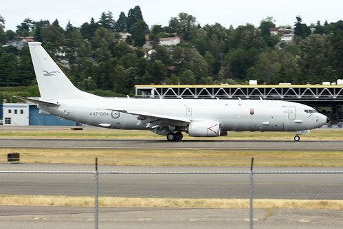 Boeing P8A Poseidon Royal Australia Air Force A47-004 LN6216