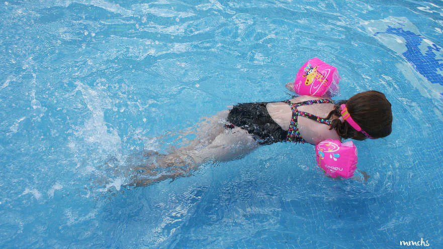 piscina en alcoceber