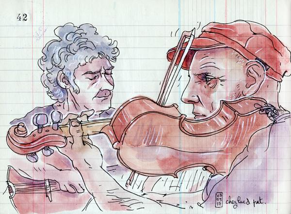 gildas au violon