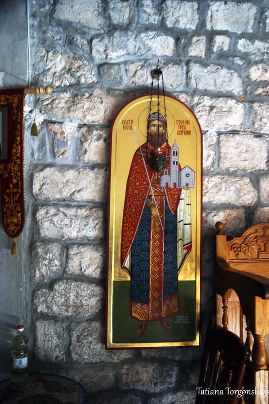 Внутри церкви Успения Пресвятой Богородицы