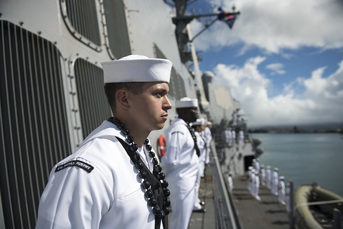 PEARL HARBOR (NNS)- Arleigh Burke-Class guided-missile destroyer USS Michael Murphy (DDG 112) returned to its homeport Joint Base Pearl Harbor-Hickam, June 13, after a successful five-and-a-half month deployment.