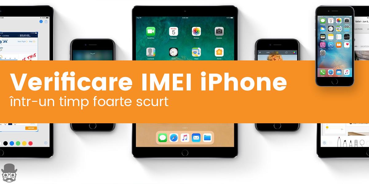 Verificare IMEI iPhone