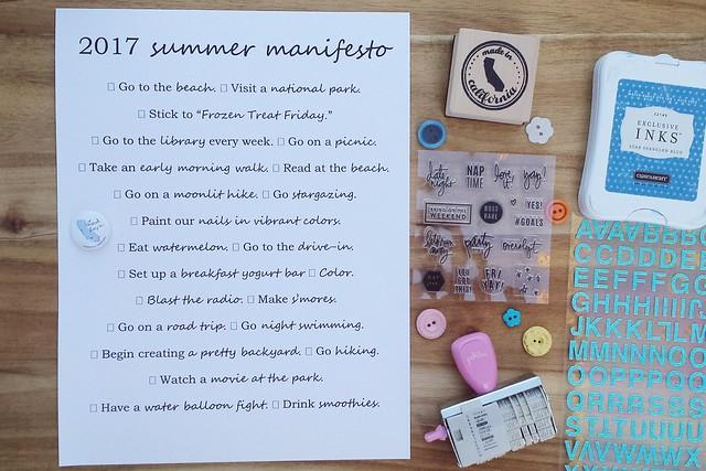 summer manifesto 2017