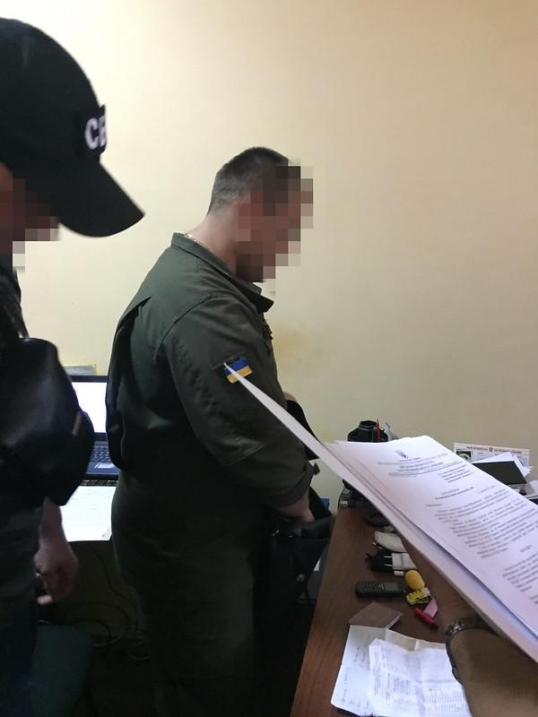 На Івано-Франківщині СБУ затримала на хабарі командира частини Нацгвардії_2