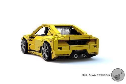 Tonagari Pequenaluz RLP rear 3/4 - 14-wide - Lego