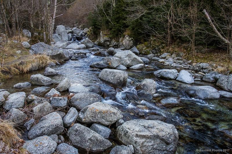 Río Freser a la altura de Daió