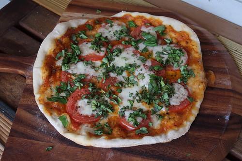 Pizza Margherita (ganz)