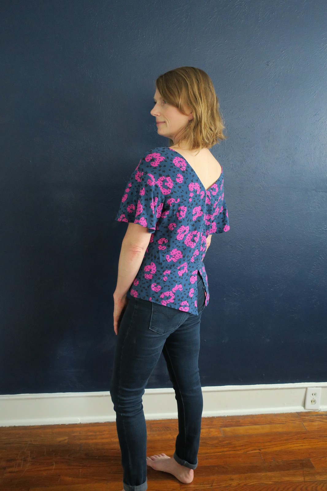 Papercut Patterns Flutter Blouse
