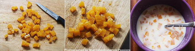 How to make Mango jelly pops recipe - Step2