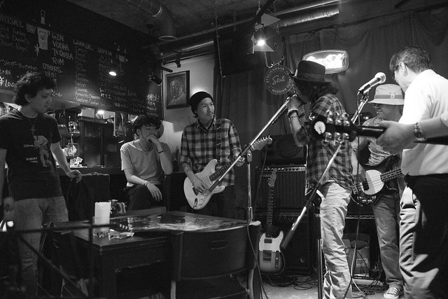 T.G.I.F. blues session at Terraplane, Tokyo, 09 Jun 2017 -00285
