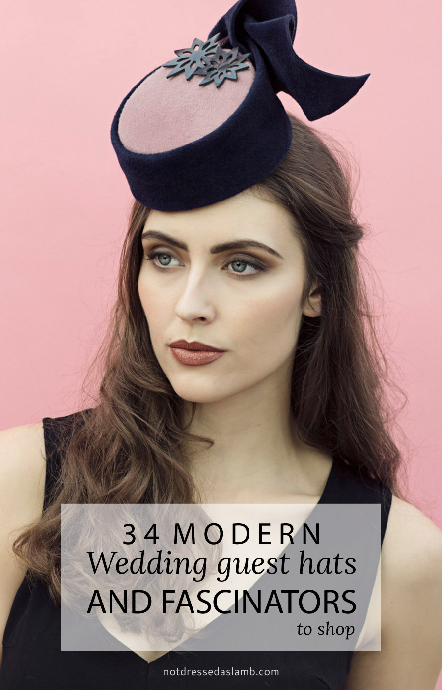 34 Modern Wedding Guest Hats and Fascinators