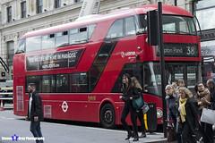 Wrightbus NRM NBFL - LTZ 1007 - LT7 - Clapton Pond 38 - Arriva - London 2017 - Steven Gray - IMG_9105
