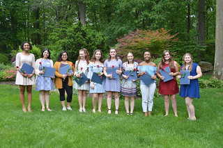 27. 2017ScholarshipTea0082:award recipients