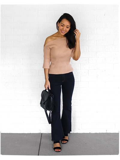 Majorelle Knit + Rag and Bone Flares