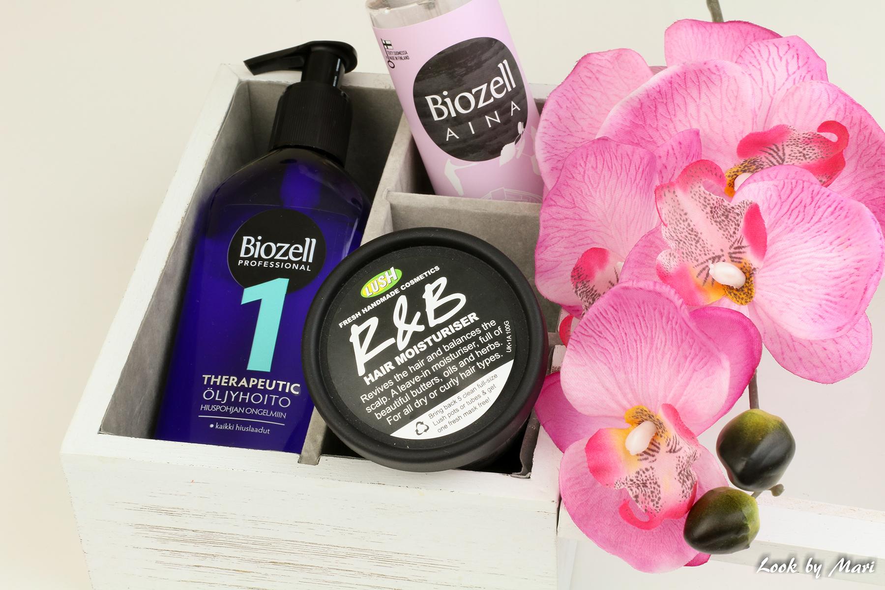 7 biozell therapeutic öljyhoito hiuspohjan ongelmiin kokemuksia