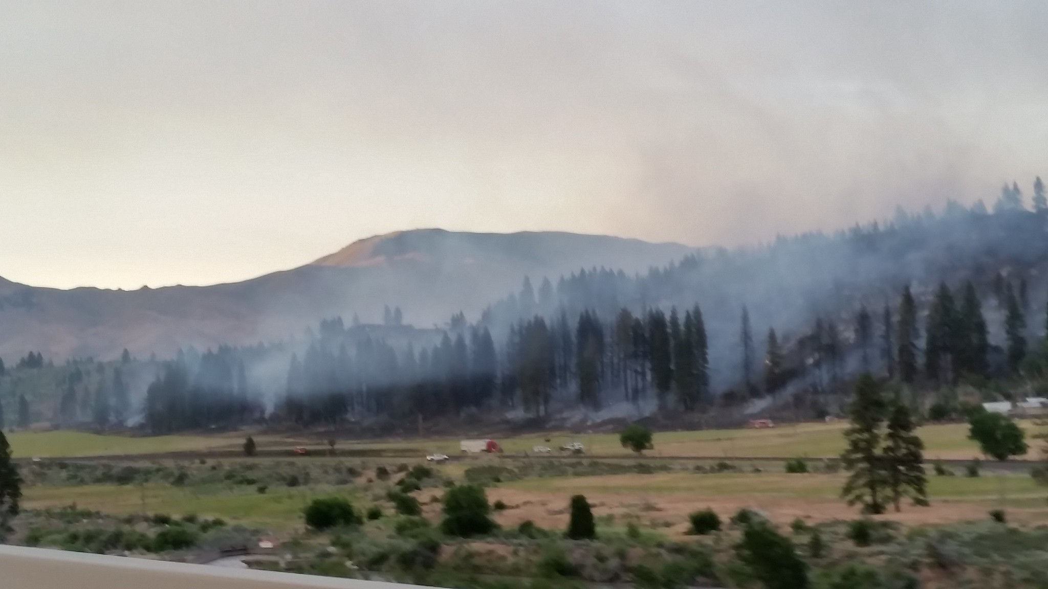 Nevada Brush Fire