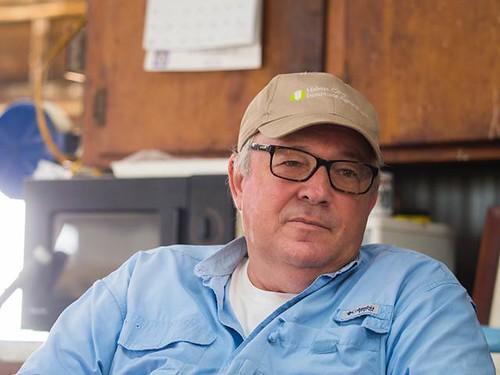 Arkansas farmer Chris Isbell