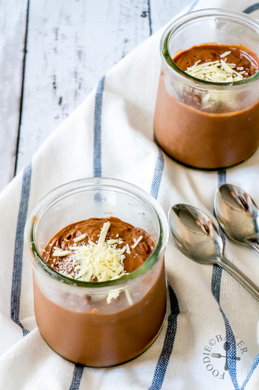 Eggless Baileys Chocolate Pudding