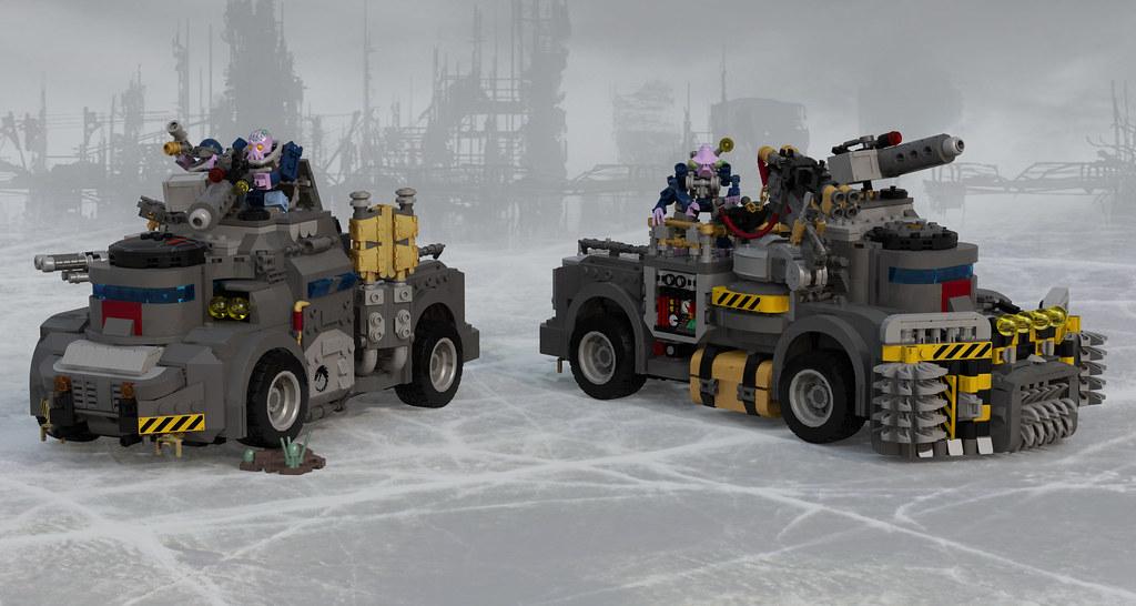 Goliath Truck and Rockgrinder