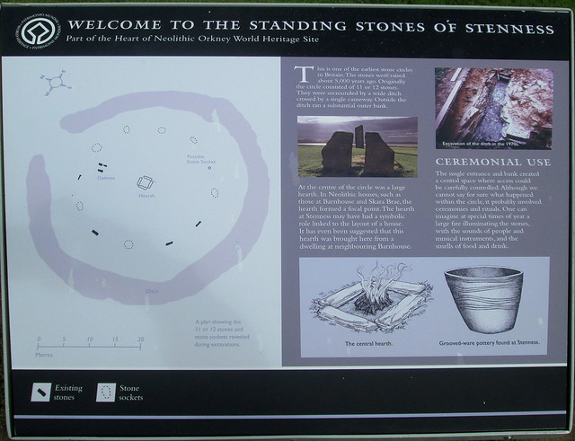 Stones of Stenness Information Board