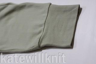 katewillknit | Hudson Pant cuff detail