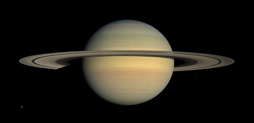 Saturne - Photo prise par <i>Cassini</i>, 23/07/08