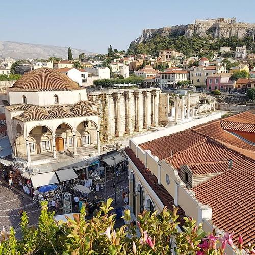 Atenas na Grecia