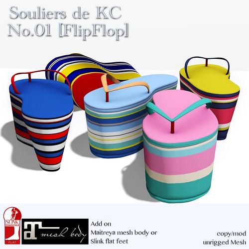Souliers de KC No.01 [FlipFlop]Ad