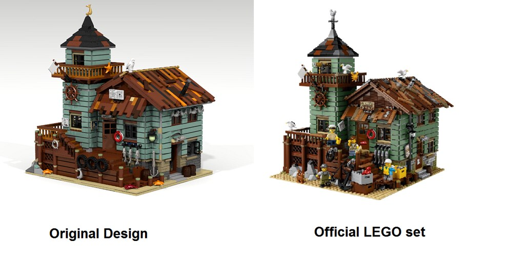 LEGO-Ideas-Old-Fishing-Store-Comparison