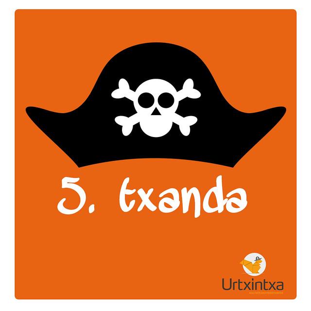 Pirata Udalekuak 2017- 5.txanda