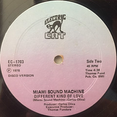 MIAMI SOUND MACHINE:I WANT YOU TO LOVE ME(LABEL SIDE-B)